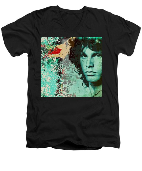JM Men's V-Neck T-Shirt