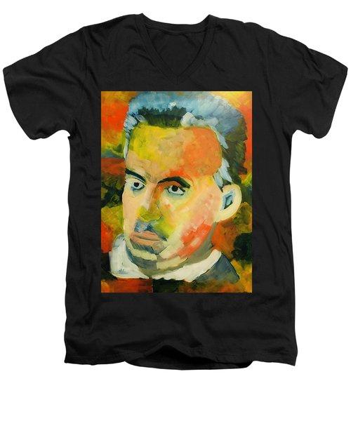 Jordan Peterson Men's V-Neck T-Shirt