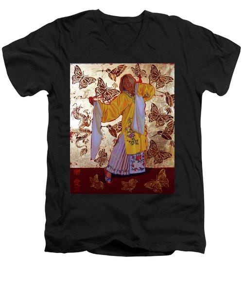 Joyful Love Men's V-Neck T-Shirt