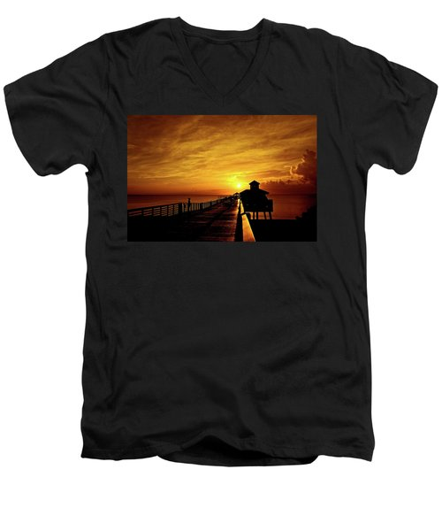 Juno Pier 4 Men's V-Neck T-Shirt