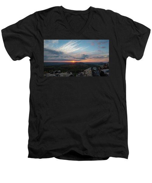 Just Before Sundown Men's V-Neck T-Shirt