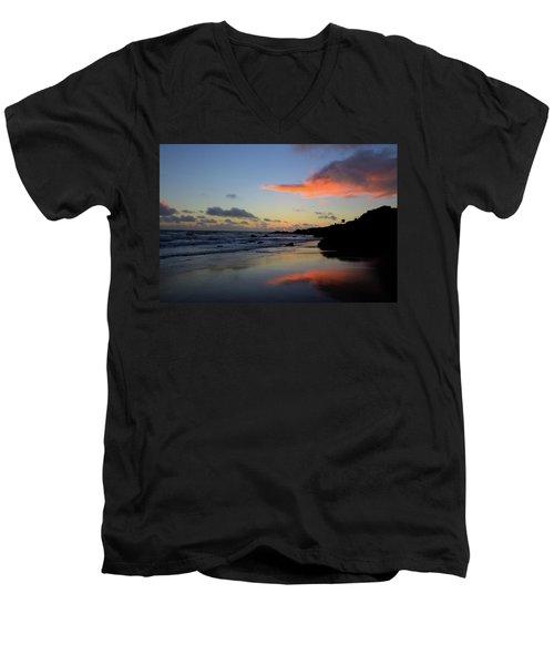 Leo Carrillo Sunset II Men's V-Neck T-Shirt