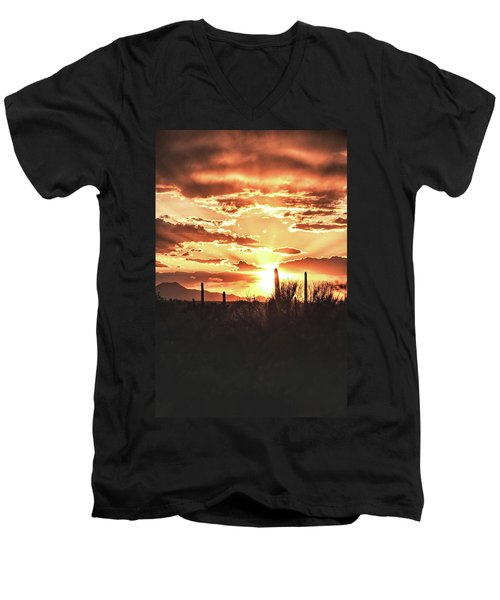 Light Of Arizona Men's V-Neck T-Shirt