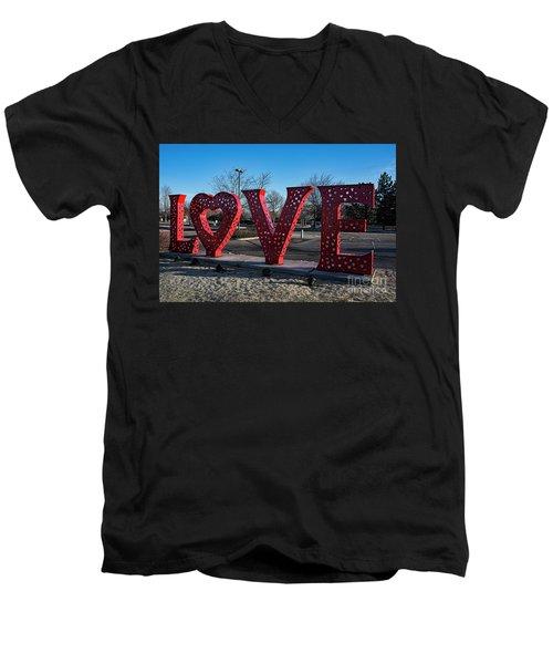 Loveland Men's V-Neck T-Shirt