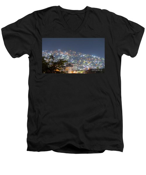 Magic Of Zihuatanejo Bay Men's V-Neck T-Shirt