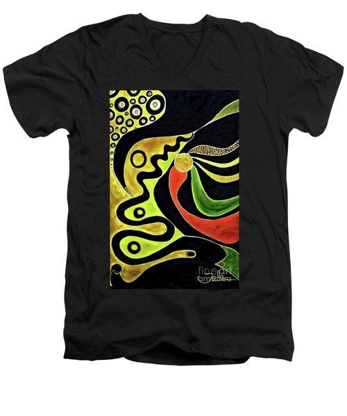 Making Waves.. Men's V-Neck T-Shirt