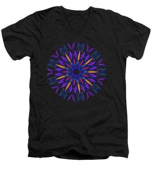 Mandala Dreamcatcher Men's V-Neck T-Shirt