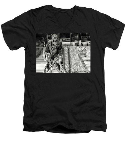 Marc Andre Fleury Vegas Golden Knights Men's V-Neck T-Shirt