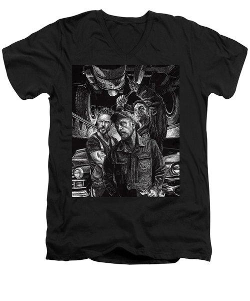 Mechanics Men's V-Neck T-Shirt