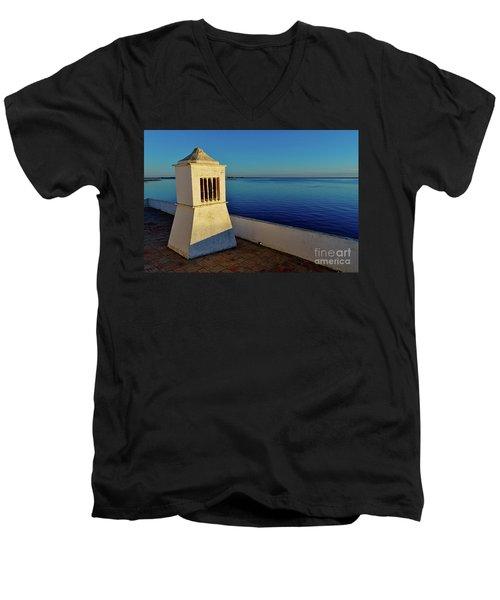 Mediterranean Chimney II. Portugal Men's V-Neck T-Shirt