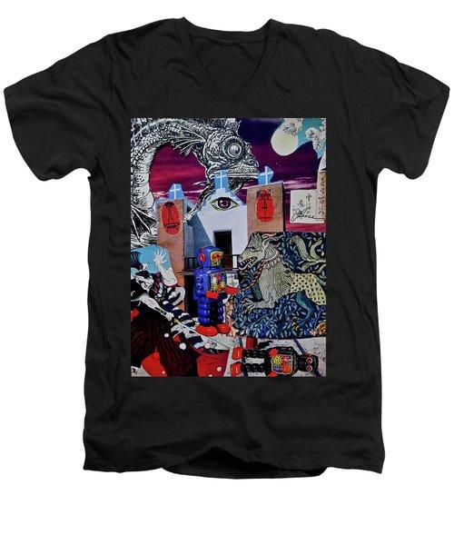 Mind's Eye Men's V-Neck T-Shirt
