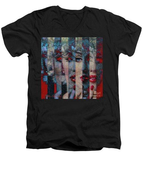 Mmarilyn 132 Q Sis Men's V-Neck T-Shirt