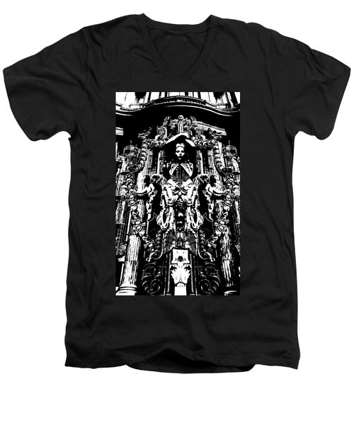 Momento Mori Men's V-Neck T-Shirt