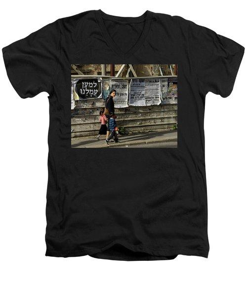 Mother Men's V-Neck T-Shirt