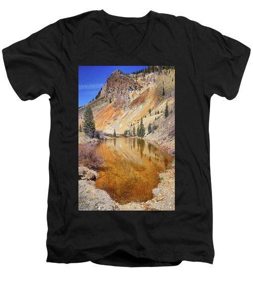 Mountain Reflections Men's V-Neck T-Shirt
