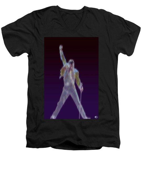 Mr. Fahrenheit Men's V-Neck T-Shirt