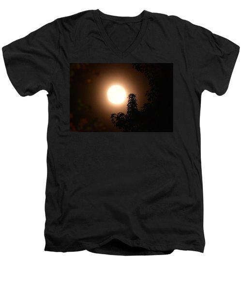 My Hunters Moon Men's V-Neck T-Shirt