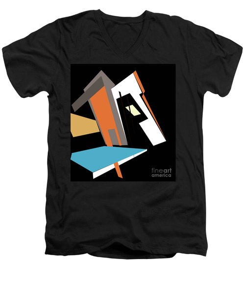 My World In Abstraction Men's V-Neck T-Shirt