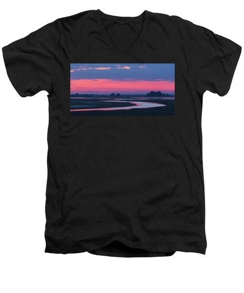 Mystical River Men's V-Neck T-Shirt