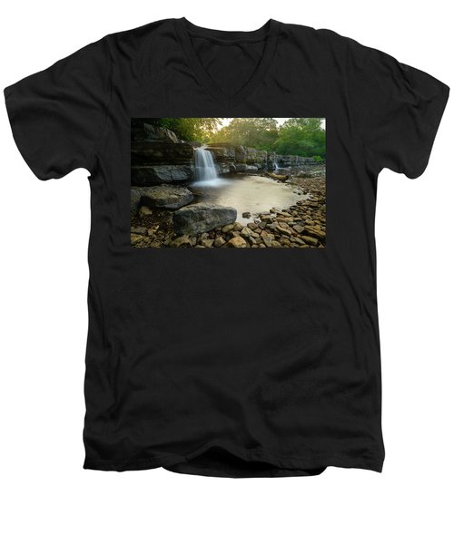 Nature's Design Men's V-Neck T-Shirt