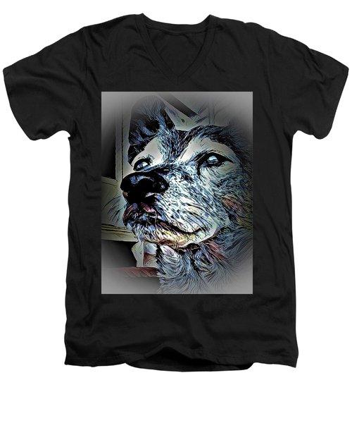 Noble Beast Men's V-Neck T-Shirt