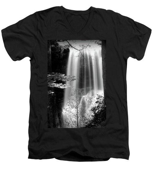 North Carolina Falls Men's V-Neck T-Shirt