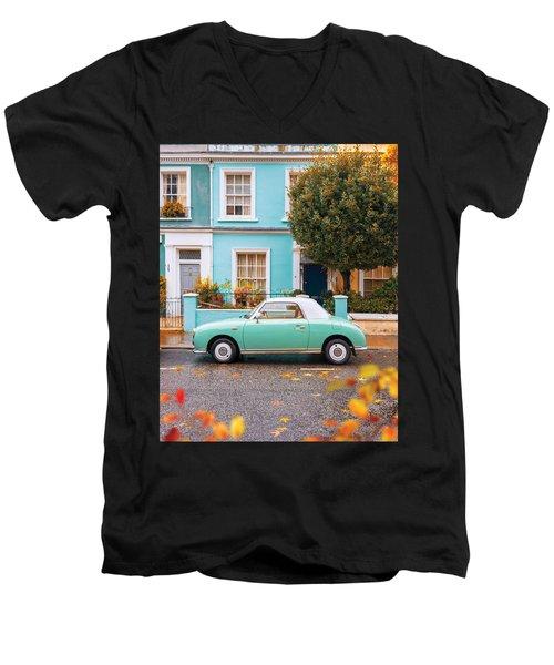 Notting Hill Vibes Men's V-Neck T-Shirt