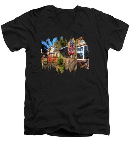 On The Bayfront Men's V-Neck T-Shirt