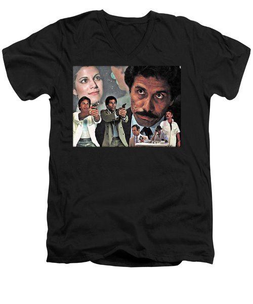 One Eyed Jack Men's V-Neck T-Shirt