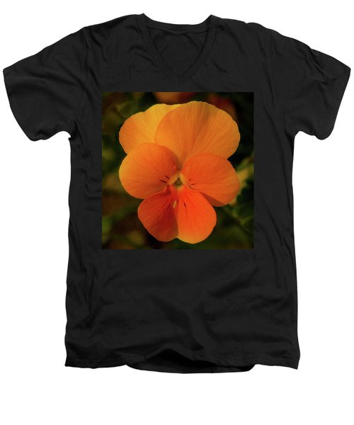 Orange Cream Men's V-Neck T-Shirt