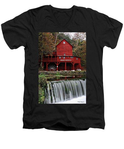 Ozarks Mill Men's V-Neck T-Shirt