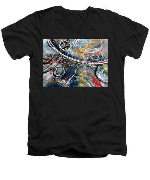Paint Puddles Men's V-Neck T-Shirt
