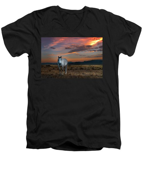 Pale Horse Men's V-Neck T-Shirt