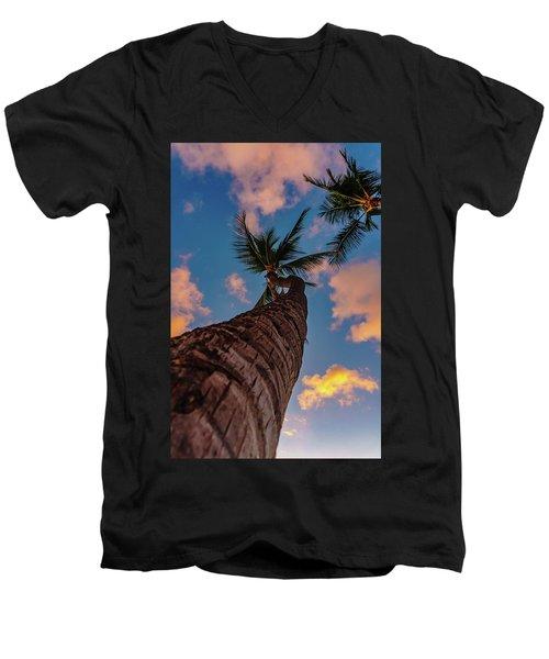 Palm Upward Men's V-Neck T-Shirt