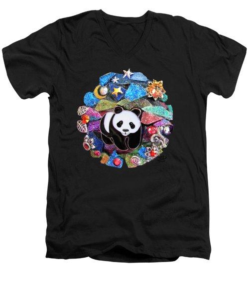 Panda Bear 1 Men's V-Neck T-Shirt