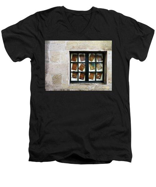 Parchment Panes Men's V-Neck T-Shirt