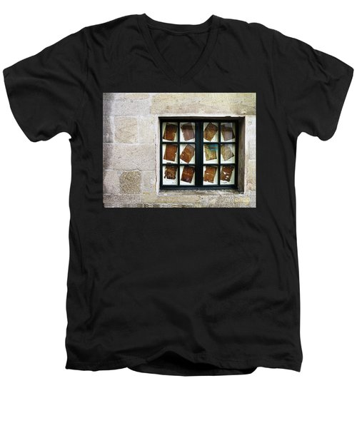 Parchment Panes Men's V-Neck T-Shirt