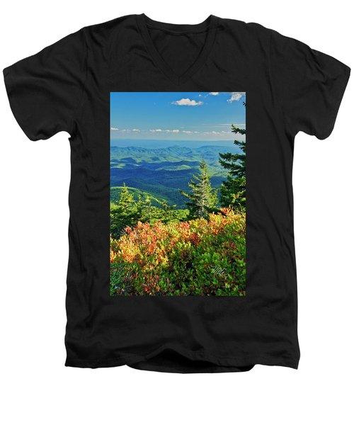 Parkway Tree Men's V-Neck T-Shirt
