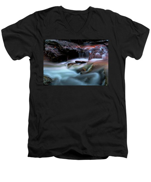 Passion Of Water Men's V-Neck T-Shirt