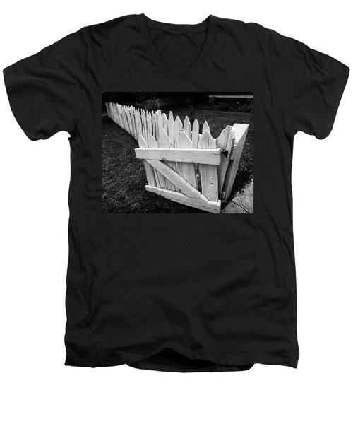 Pickett Fence Men's V-Neck T-Shirt