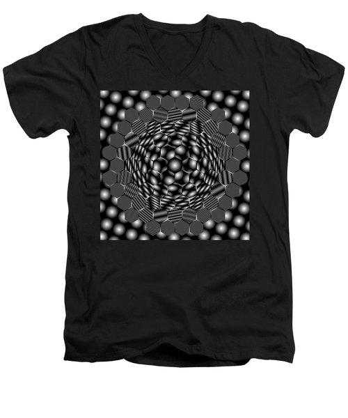 Plattiring Men's V-Neck T-Shirt