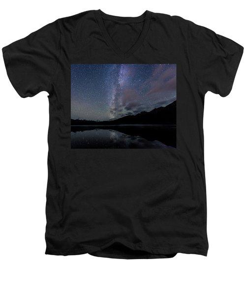 Power Of The Pyramid Men's V-Neck T-Shirt