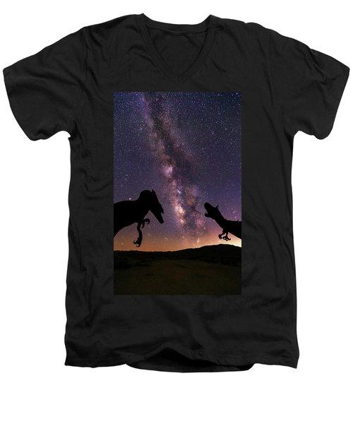 Pre Historic Men's V-Neck T-Shirt