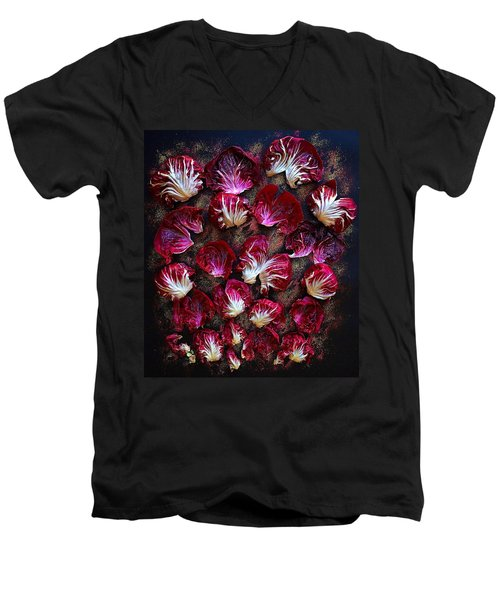 Purple Radicchio Men's V-Neck T-Shirt