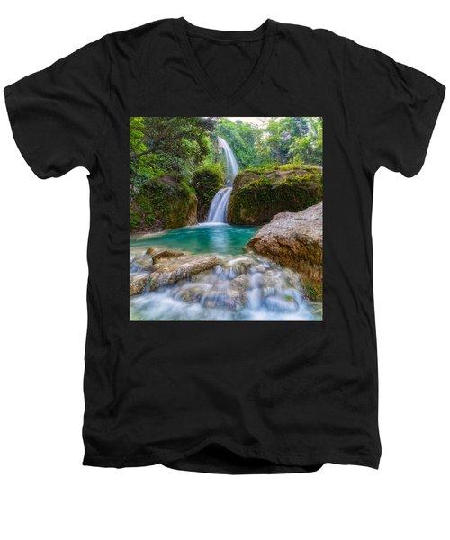 Refreshed Men's V-Neck T-Shirt