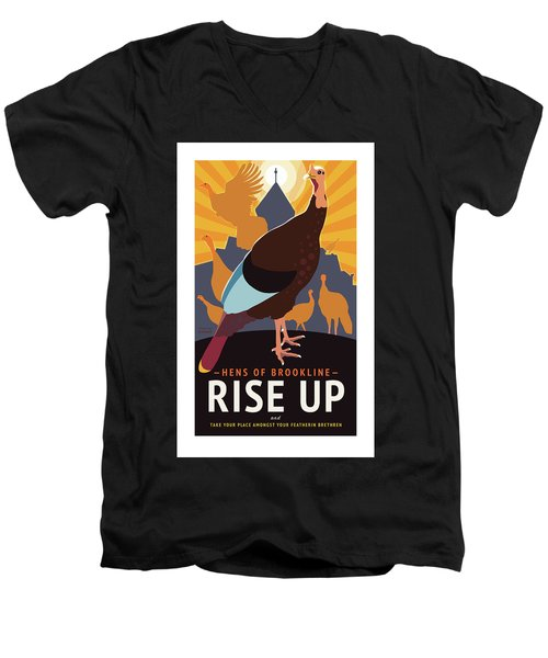 Rise Up Men's V-Neck T-Shirt