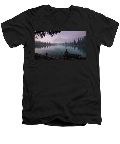 Rising From The Fog Men's V-Neck T-Shirt