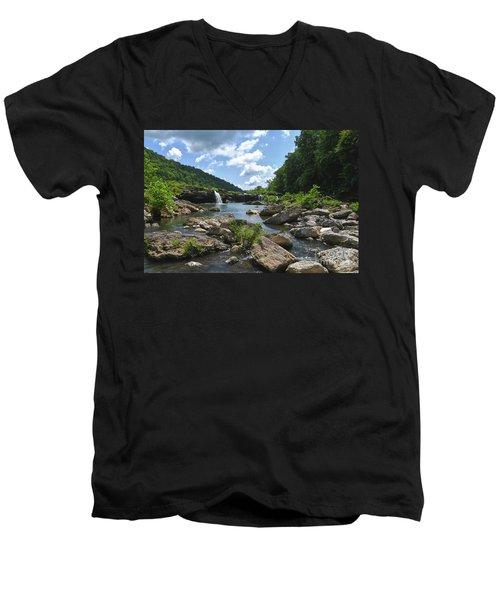 Rock Island State Park 7 Men's V-Neck T-Shirt