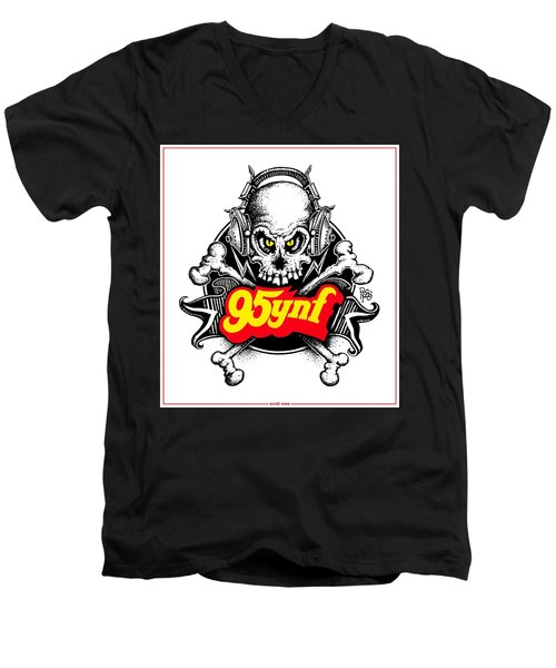 Rock 'n Roll Pirates Men's V-Neck T-Shirt
