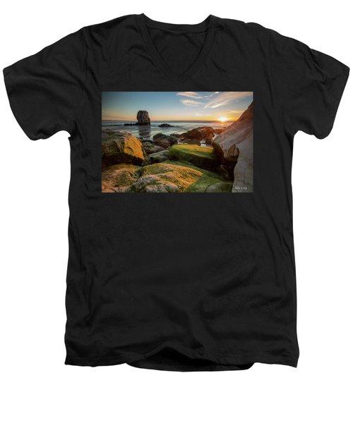 Rocky Pismo Sunset Men's V-Neck T-Shirt